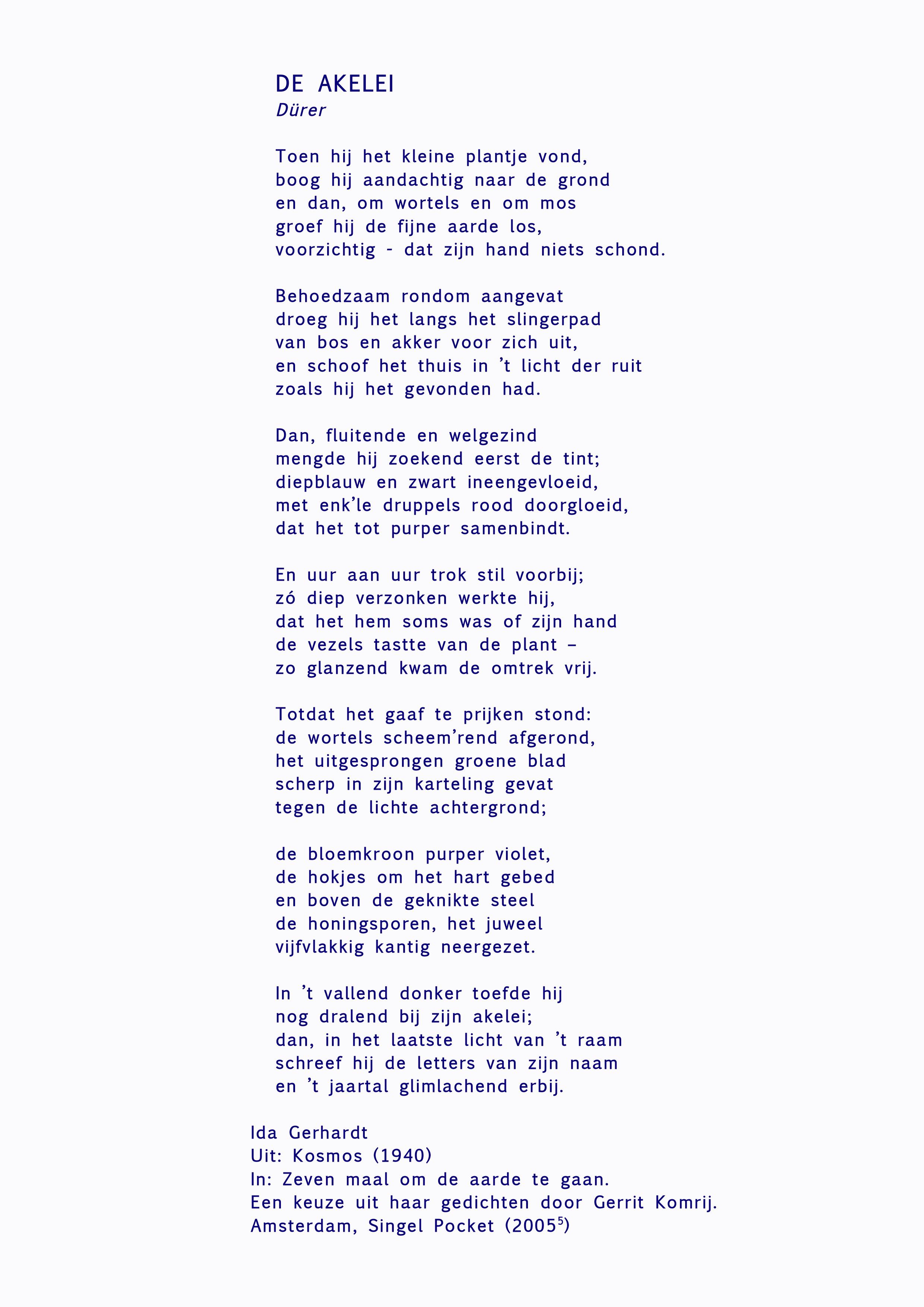 Gedicht Zeven Maal Om De Aarde Te Gaan