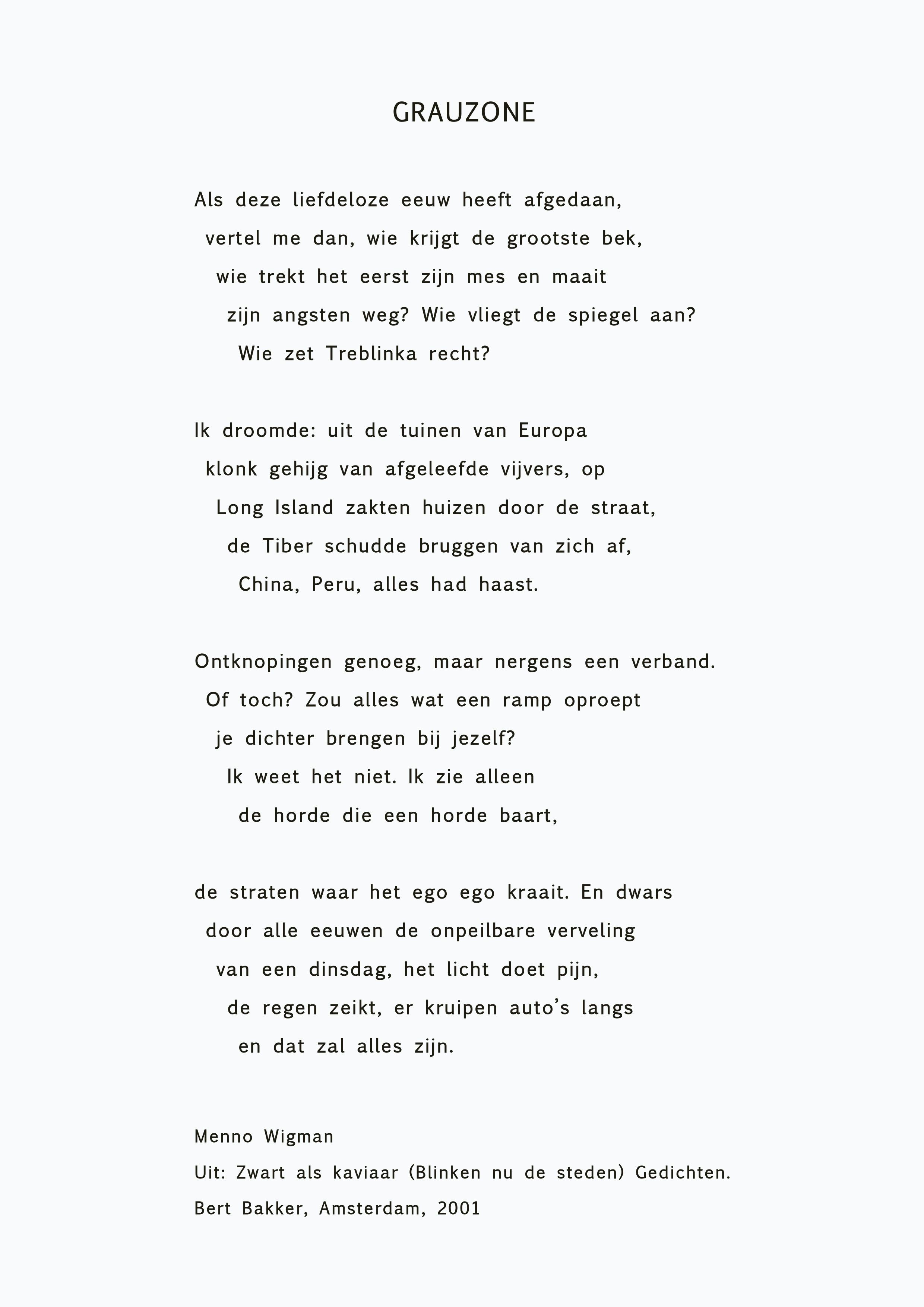 gedicht maken over jezelf